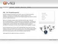 Unternehmen - M8 Projektsteuerung GmbH - Projektmanagement, -beratung und -training Magdeburg - Mich...