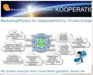 Bild Webseite Renergie® Verbundmarketing  Anbahnung und Betreuung von Vertriebs-Kooperationen München