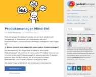 Bild produktbezogen.de - Der Blog für Produktmanagement und User Experience Design
