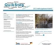 Bild Webseite QuikStep Beratungsgesellschaft UG Durmersheim