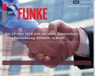 Bild Webseite Ingenieurbüro H.G.Funke Köln