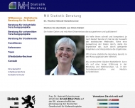 Bild Statistik Beratung Dr. Monika Heinzel-Gutenbrunner