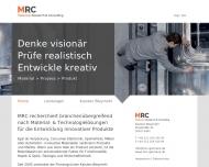 Bild MRC - Materials Research & Consulting