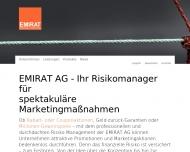 Bild Webseite Emirat München