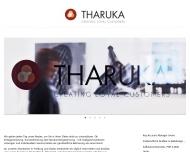 Bild Webseite THARUKA Freiburg im Breisgau