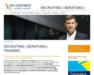 Bild on-connect (Experten für wirksames XING-Marketing & XING-Recruiting)
