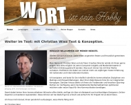 Bild Christian Wiez Text & Konzeption