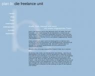 Bild Webseite plan b: die freelance unit München