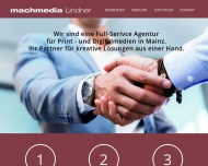 Website machmedia Lindner