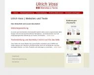 Bild Ulrich Voss | Websites und Texte