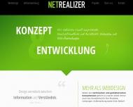 Bild Webseite net-realizer Nürnberg