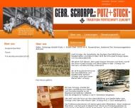 Website Gebr. Schorpp Putz + Stuck