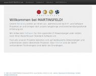 Bild Webseite Martinsfeld Köln