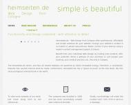 Bild heimseiten.de - Webdesign aus Köln