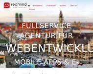 Bild Webseite redmind München