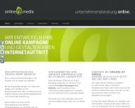 Website Online at Media - Unternehmensberatung Online