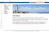 Bild Webseite EbelHofer Strategy & Management Consultants Köln