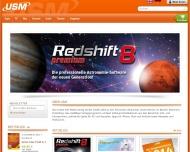 Bild Webseite United Soft Media Verlag München