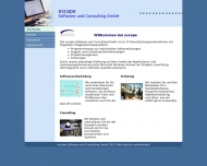 Bild Webseite escape München