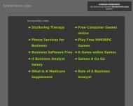 Bild Webseite Bioservices Softwareentwicklung  u. vertriebs München