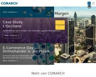 Bild Webseite Comarch Software und Beratung Aktiengesellschaft München