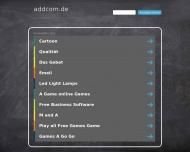 Bild Webseite AddCom München