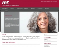 Website FBS, Franconia Business Services