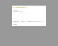 Website Dr. Cornelius Richter, LL.M.