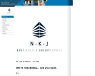 Website N-K-J Baudienste Co/ N-K-J Bau-und Dienstleistungsgesellschaft m.b.H.