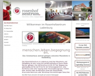 Website Rosenhofzentrum