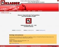 Bild Klaeser Internationale Fachspedition und Fahrzeugbau GmbH Zweigniederlassung Hamburg
