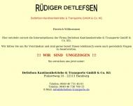 Bild Detlefsen Kantinenbetriebe & Transporte GmbH & Co. KG