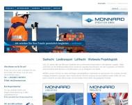 Seefracht Landtransport Luftfracht Weltweite Projektlogistik - MONNARD Spedition GmbH