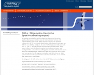 Website STUTE Logistics (AG