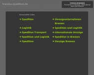 Website TRANSBO Speditions