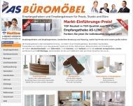 Bild Webseite AS Büromöbel Bremen