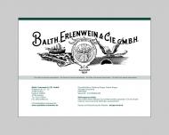 Bild Erlenwein & Cie. GmbH, Balth.