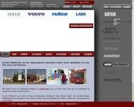 Website Fahrzeugservice und Landmaschinenhandel