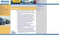 Website Gebr. Biehle