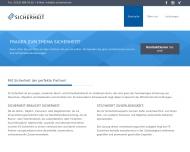 Website FS Sicherheit