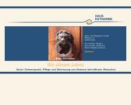 Bild Webseite Haus Katharina Alten- und Pflegeheim Inden