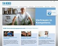 Bild Webseite Blum Helge SHBB Steuerberatung Flensburg