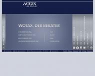Bild Webseite Wotax Steuerberatungsgesellschaft Magdeburg