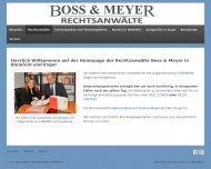Website Boss & Meyer Rechtsanwälte