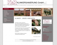Website K&R Klinkersanierung