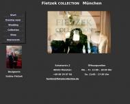 Bild Webseite Fietzek collection UG Braut-u. Abendmode München