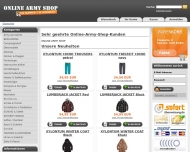 Online Army Shop - N?rnberg