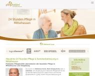 Bild Webseite Pflegehelden® Mittelhessen Büdingen
