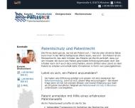 Website Patlecor Patentanwalt München