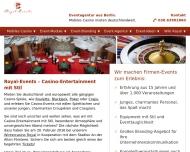 Bild Webseite Royal-Events Berlin